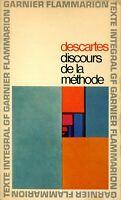 Discours de la méthode - Chronologie et Préface par Geneviève Rodis-Lewis