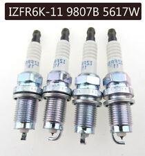 4Pcs IZFR6K11 6994 Laser Iridium Spark Plug for Honda Accord CR-V Acura TSX RSX