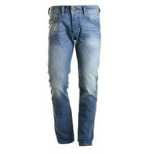 Diesel Cotton Short Classic Fit, Straight Jeans for Men