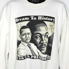 Barack Obama Sweatshirt Martin Luther King Jr MLK Dream To History Size XL