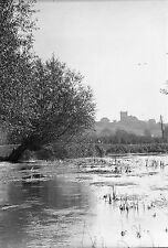 1910s DENHAM #7 River Colne Vintage Photographic Glass Negative (Bucks 1917)