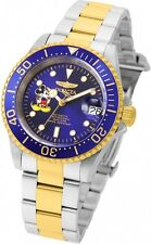 Invicta 22778 Men's 'Disney Limited Edition' SS Automatic Watch With 3 Slot Case