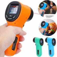 Infrared Thermometer Lcd Laser Temperature Gun Ir Temp Meter Noncontact Digital