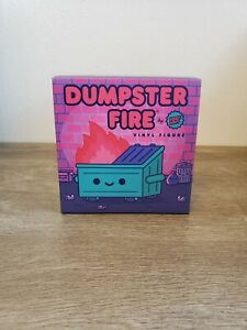 100% Soft Dumpster Fire Glow In The Dark Red Flame FYE Exclusive LE 300