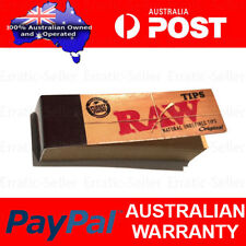 Raw Roach Filter Tips Rolling Paper | Chlorine free Unrefined Card Books Rolly