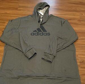 ADIDAS Hoodie 3XLT Tall Mens Polyester Sweatshirt NEW w/tags GG Big BOS Hood 3XL