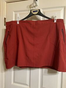 Columbia Sportswear Company Omni-Shield Active Fit Red Skort Size 3X