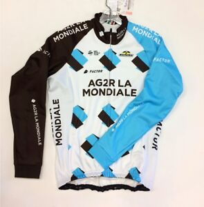 TEAM AG2R Thunder Windproof Cycling Jacket. Made in Italy by GSG