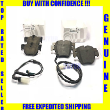 BMW Front & Rear Brake Pad Set+Sensor Kit 128 325 328 330 525 Z4 Genuine