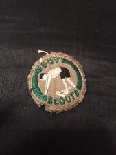 Great Vintage Boy Scouts Diving Cloth Badge