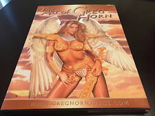 SIGNED THE ART OF GREG HORN HARDCOVER ART BOOK EMMA FROST SCARLETT TOMB RAIDER