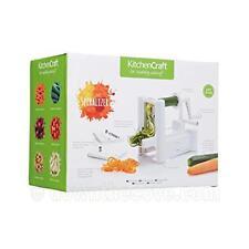 Quality Kitchen Craft Spiraliser, Vegetable Noodle Spiral Maker - 1st Class Post