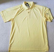 NWT IZOD Performix Moisture Wicking Polo, Light Yellow Size M