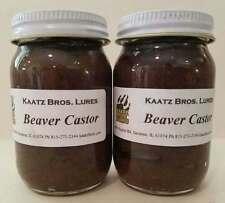Beaver Castor 8 oz Beavers Castors ground lure lures Kaatz Bros Trapping Animal