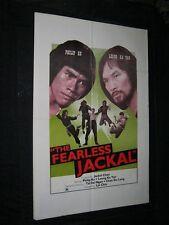 Original FEARLESS JACKAL Martial Arts PHILLIP KO Ka-Yan Leung