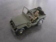 1/43 dinky toys jeep toy meccano 80b figurine rare