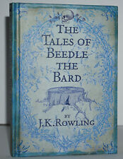 *SIGNED* FINE 1ST/1ST EDITION~ THE TALES OF BEEDLE THE BARD ~ J.K. ROWLING