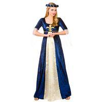 NEW Medieval Maiden Tudor Ladies Fancy Dress Costume