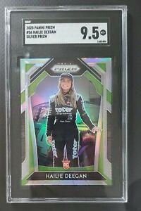2020 Prizm Racing Hailie Deegan Silver SGC 9.5 Mint + Holo Rookie