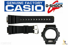 CASIO G-Shock G-6900-1 Original Black Rubber Watch BAND & BEZEL Combo GW-6900-1
