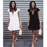 Summer Women Short Sleeve Dress Casual Party Evening Cocktail Short Mini Dress