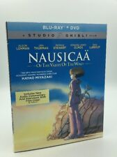 Nausicaa of Valley of the Wind (Blu-ray+DVD, 2017; 2-Disc Set) NEW w/ Slipcover