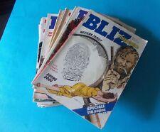 BLIZ anno IV (1980) con i numeri: 8,10,15,17,19,22,26/28,34/36,39,44