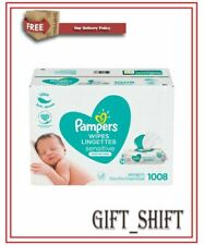 Genuine-Pampers Sensitive Baby Wipes (1008 ct.). Brand New***