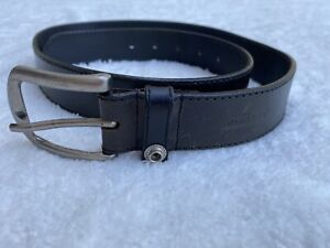 Dickies Mens Belt Size M 34-36 Genuine Leather Brown