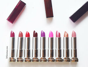 NEW Maybelline Colour Sensational lipstick | Matte | Bold Pink Red Beige Brown