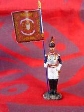 Porte drapeau Hachette N°2 - 1er régiment cuirassiers 1803  - Flag bearer