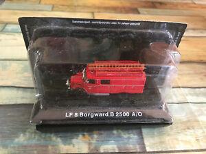 Miniature Camion de Pompiers LF 8 Borgward B 2500 A/O DeAgostini 1/72