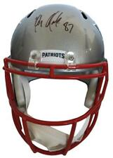 Rob Gronkowski New England Patriots Signed Autographed Replica Speed Helmet JSA