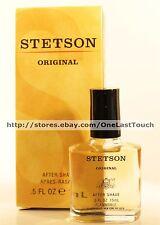 STETSON ORIGINAL* After Shave FOR MEN Fragrance COLOGNE 0.5 fl oz (BOXED) New!
