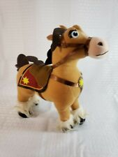 Disney Tangled Rapunzel Horse Fidella Plush Toy Stuffed Animal