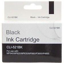 20 x compatibile CANON PIXMA CLI-521BK NERO STAMPANTE Cartuccia di inchiostro CLI521