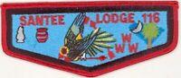 OA 116 Santee Lodge Flap S14a Stadri Vigil 1997-1999 Issue [PD115]