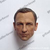 "custom 1/6 scale Head Sculpt Daniel Craig as James bond 007 For 12"" figure toy"