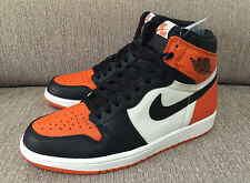 2015 Nike Air Jordan 1 Retro High OG SZ 14 Shattered Backboard Orange 555088-005
