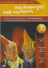 Piet Bambergen & René Van Vooren (De Mounties) : Legendarische kluchten (3 DVD)