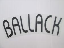 Ballack Chelsea European Football Shirt Name Set Name Block only Kids Youth