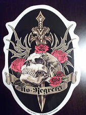 No Regrets Effigy Window Sticker NEW - FREE SHIPPING Artist Top Heavy