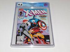 Uncanny X-Men 268 CGC 9.6 White Pages Captain America Black Widow