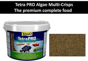 Fish food Tetra PRO Algae Multi-Crisps - premium complete fish food Vegetable