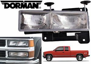 Dorman 1590000 Driver Side Headlight Assembly For 1988-1998 Chevy/GMC Trucks New