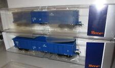 Roco H0 67193 _ PKP _ SET offener Güterwagen Bauart Eanos _ Ep: VI __ NEU