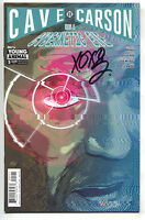 Cave Carson Has A Cybernetic Eye 5 B DC Young Animals 2017 NM Signed Gerard Way