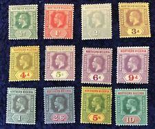 Northern Nigeria George V Definitives Part Set SG40/51 Mint Mounted C/V £250