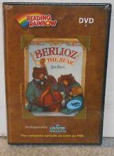 READING RAINBOW BERLIOZ THE BEAR (DVD-R 2008) RARE EDUCATIONAL NEW