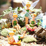 Flower Fairy Micro Landscape Gardening Fairy Mini Dollhouse Family Ornament JX